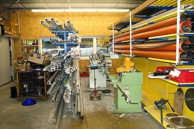 Produktion Halle