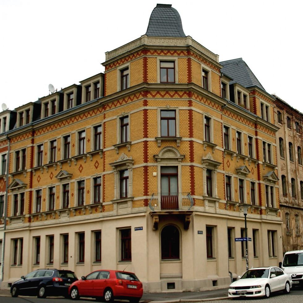 Denkmalgeschütztes Haus in Dresden